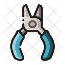 Wire Cutter Pliers Tool Icon
