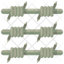 Wire Fences Barbed Wire Palisade Wire Icon