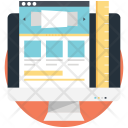 Wireframe Web Layout Icon