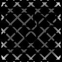 Wireframe Slider Layout Icon
