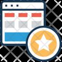 Wireframe Layout Web Icon