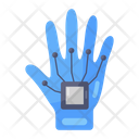 Wired Glove Exoskeleton Robotic Hand Icon