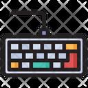 Wired Keyboard Keyboard Computer Icon