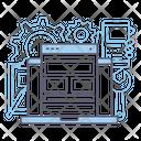 Wireframe Webpage Website Icon