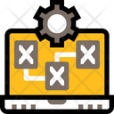 Wireframe Layout Laptop Icon