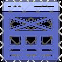 Prototype Usability Wireframe Icon