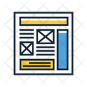Wireframe Sketching Icon