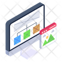 Web Design Web Layout Wireframe Icon