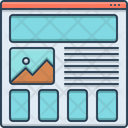 Wireframing Prototyping Icon