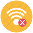 Wireless Connected Disabled Icon