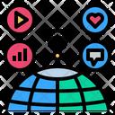 Wireless Online Internet Icon