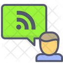 Wireless Hotspot Internet Icon
