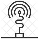 Wireless Signal Antenna Icon