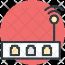 Wireless Network Wlan Icon