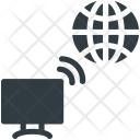 Wireless Internet Network Icon