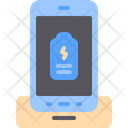 Wireless Charger Battery Icon