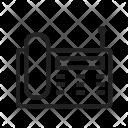 Wireless Landline Phone Icon