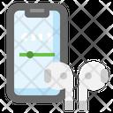 Wireless Airpod Icon