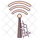 Wifi Tower Network Tower Signal Tower Icon