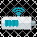 Wireless Battery Charging Wirless Battery Smart Battery Icon