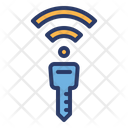 Wireless Car Key Icon