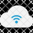 Wireless cloud Icon