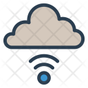 Cloud Wireless Signal Icon
