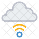 Wireless Cloud Icon
