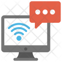Communication Web Conferencing Icon