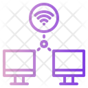 Wireless Computer Connection Computing Cloud Icon