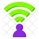 Wireless Connection Wifi User Connection Icon