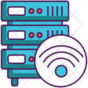 Wireless Database Icon