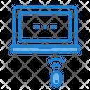 Laptop Wifi Internet Icon
