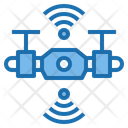Connect Drone Ai Icon