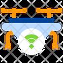 Wireless Drone Wifi Drone Wireless Icon