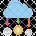 Cloud Money Wireless Icon