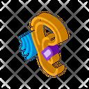 Ear Safety Logo Icon