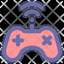 Wireless Gamepad Joystick Game Icon