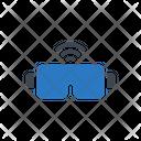 Wireless Glasses Icon