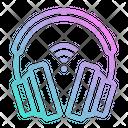 Headphones Electronics Audio Icon