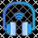 Wireless Headphone Headphone Camera Icon
