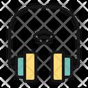 Headphone Camera Laptop Icon