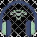Wireless Headphone Head Phones Earphones Icon