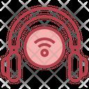 Wireless Headphone Headphone Wifi Icon