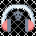 Headphone Wireless Wifi Icon