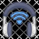 Wireless Headphones Output Device Hardware Icon