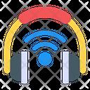 Wireless Headphones Smart Headphones Digital Headphones Icon