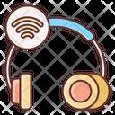 Wireless Headphones Headphones Earphones Icon