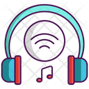 Wireless Headset Wireless Headphone Volume Icon