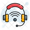Headset Technology Wireless Icon